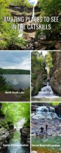 places to see in the catskill mountains infographic