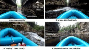 rafting and kayaking at ausable chasm