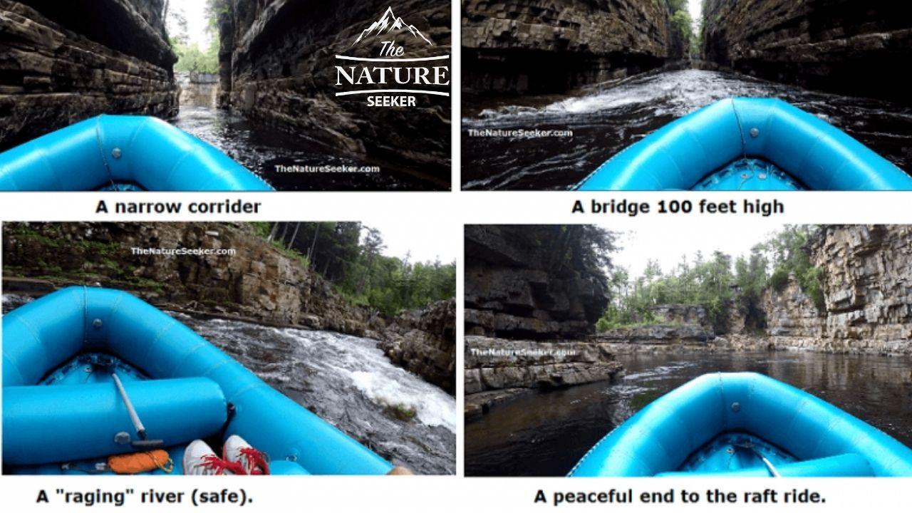 rafting and kayaking at ausable chasm