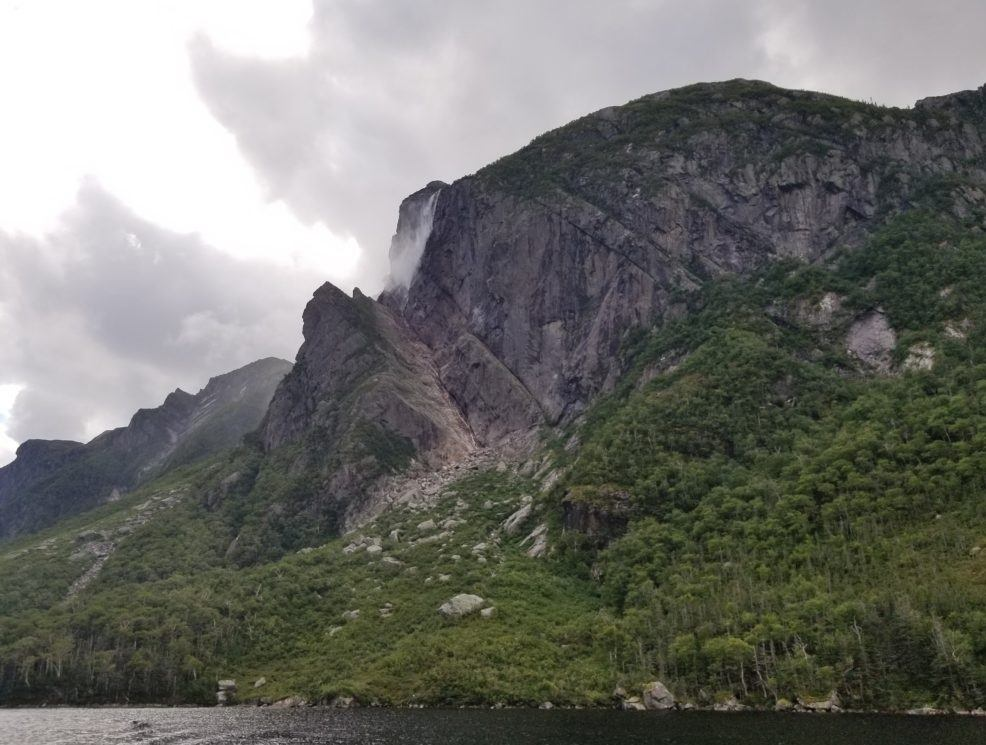 scenic view of western brook pond