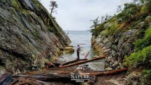 scenic views at Whytecliff Park north of vancouver