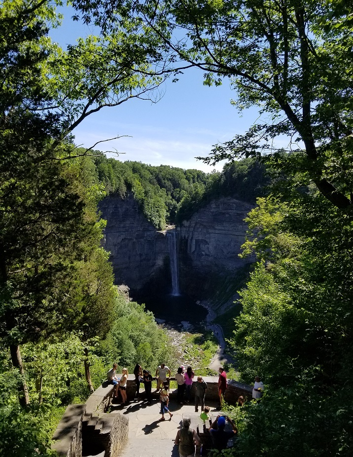 taughannock falls photo