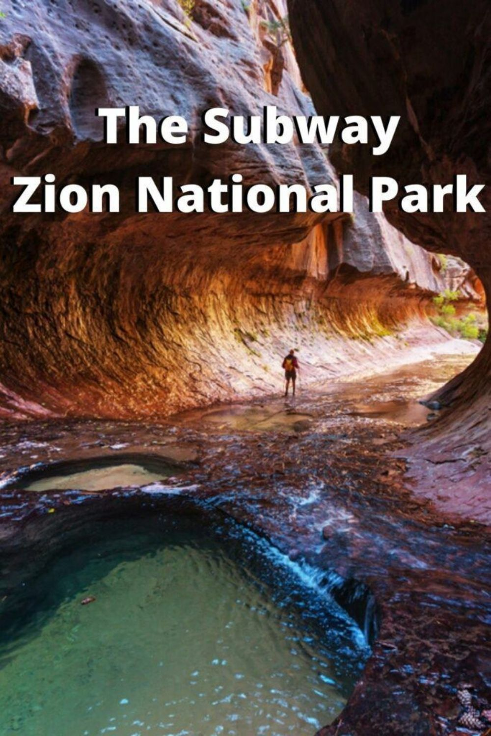 the subway hike at zion national park picture
