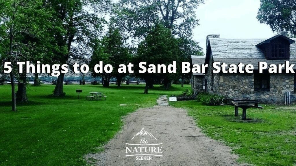 things to do in vermont sand bar state park