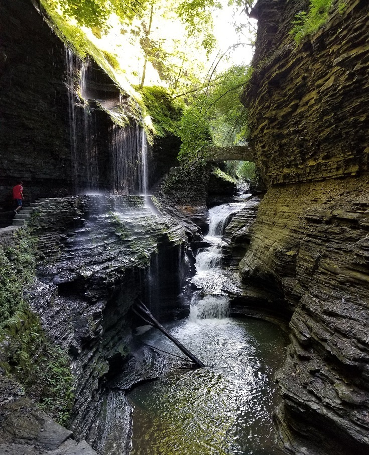 watkins glen state park within finger lakes