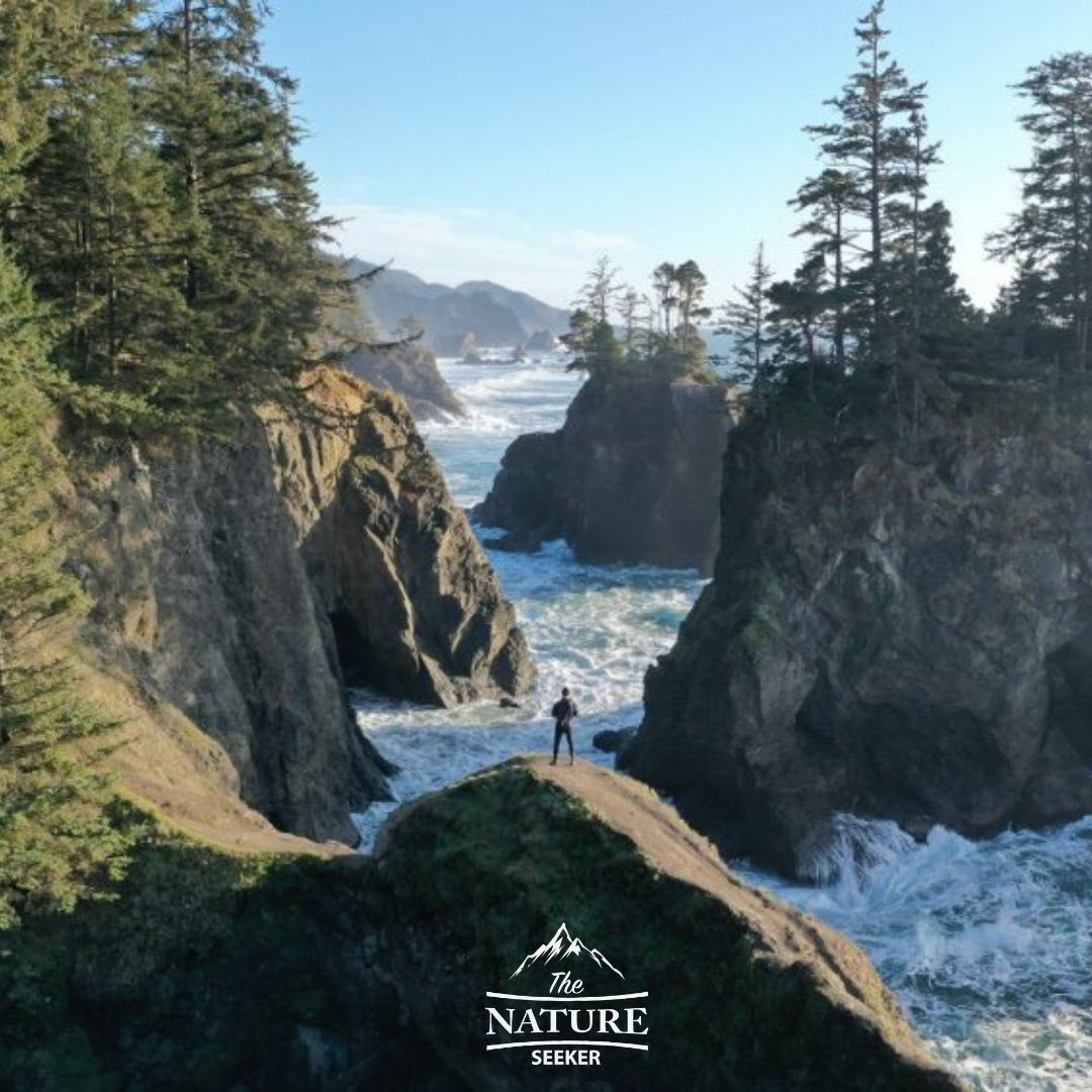 where you can fly a drone on the oregon coast