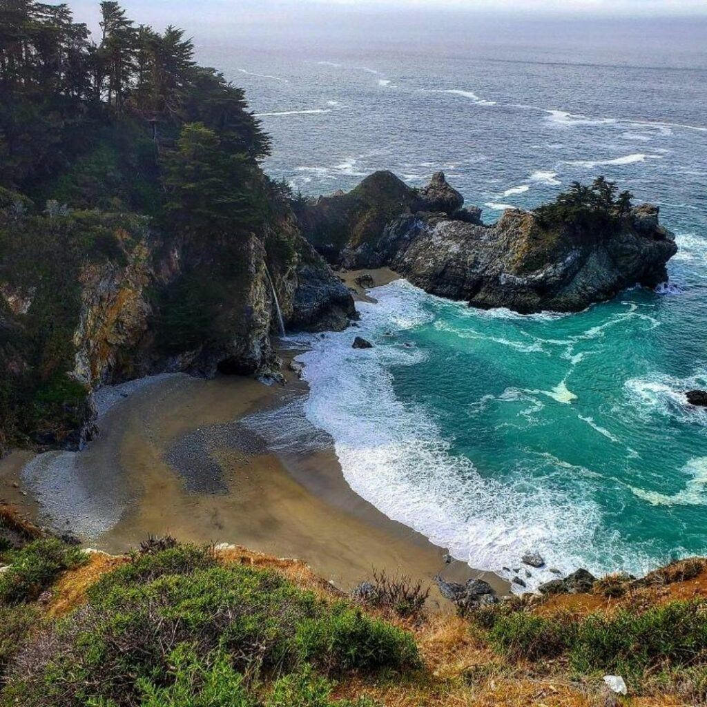 big sur pacific northwest