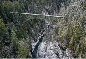 high steel bridge picture
