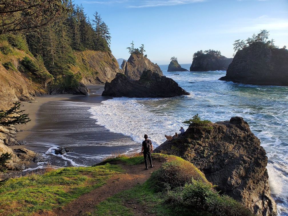 secret beach on oregon coast