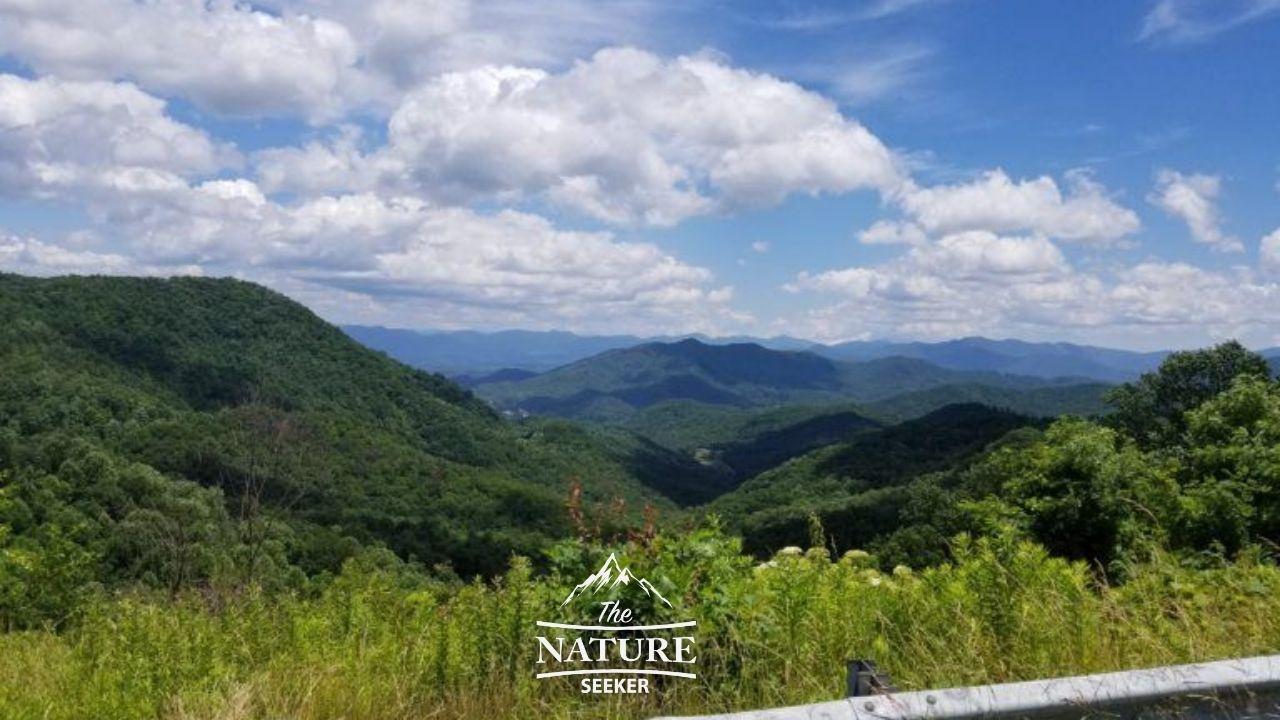 blue ridge overlook of Appalachian mountains 07