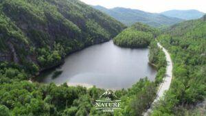 chapel pond appalachian mountains scenic drive 04