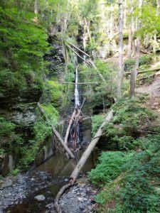 delaware watergap silverthread falls