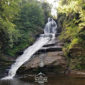 dingmans falls at delaware water gap hike