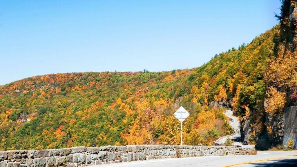 high peaks scenic drive in new york state adirondacks