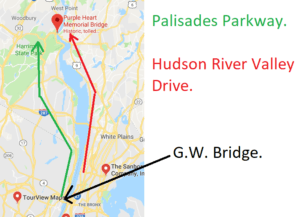 palisades parkway scenic drive