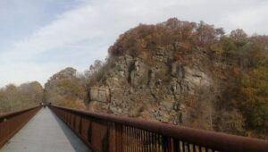 rosendale trestle near widow jane mine