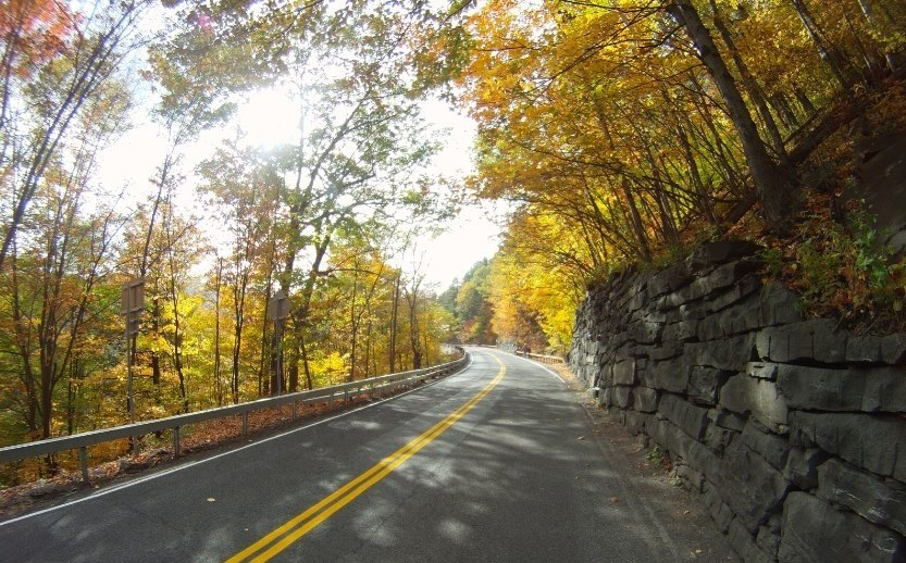 scenic drive catskills new york state