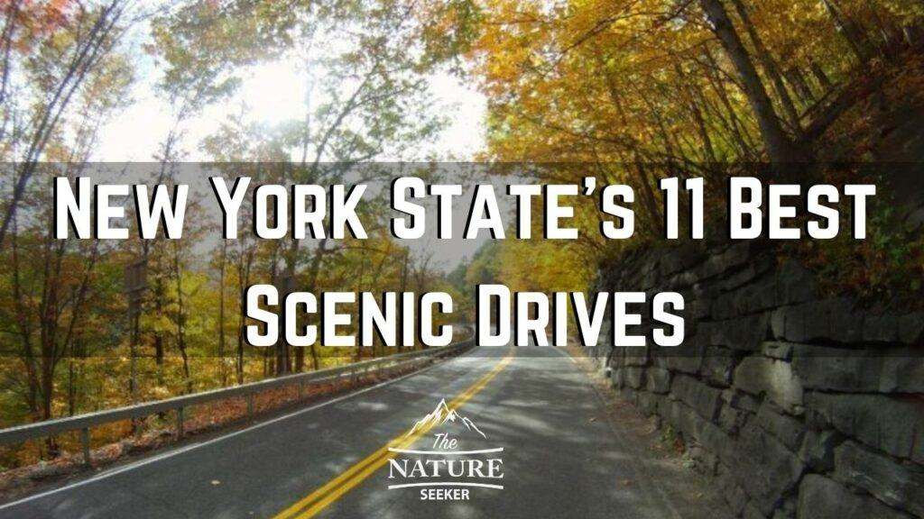 scenic drives new york state