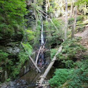 silverthread falls at delaware water gap hike