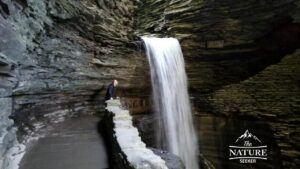 amazing waterfalls to see at watkins glen state park