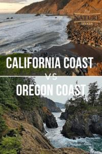 california coast vs oregon coast
