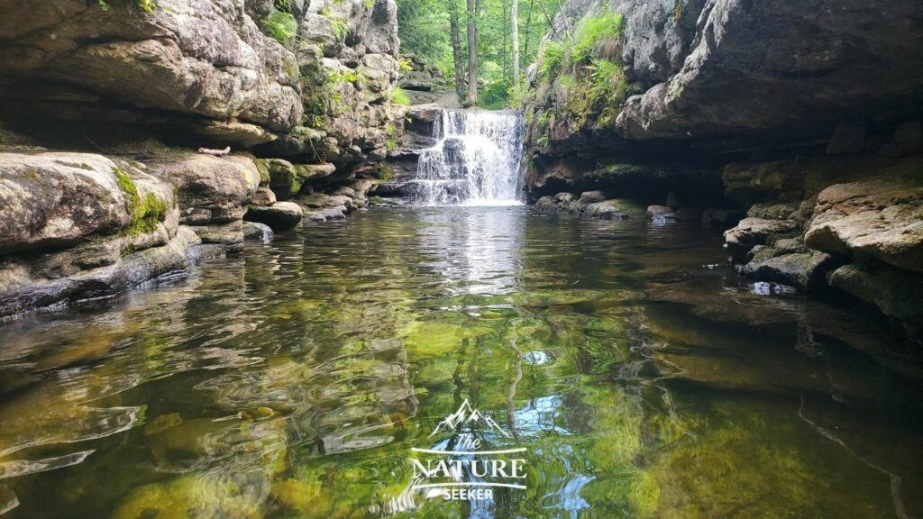 split rock swimming hole coxing hill mohonk preserve