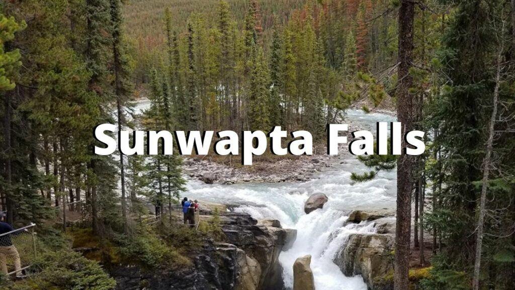 Sunwapta Falls canadian rockies