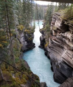 Athabasca Falls photo