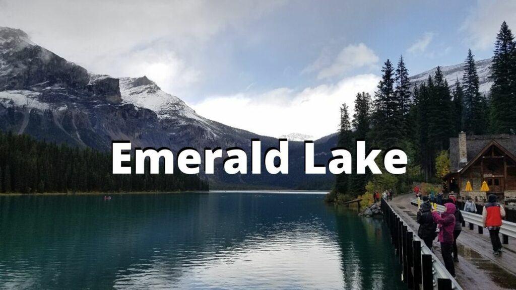 emerald lake canadian rockies