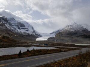 Athabasca glacier photo