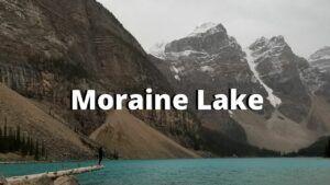 moraine lake canadian rockies