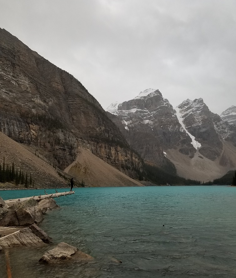 morraine lake photo