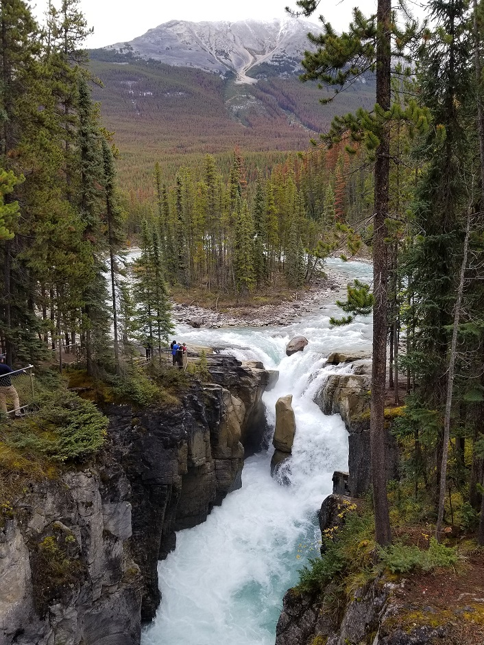 sunwapta falls photo