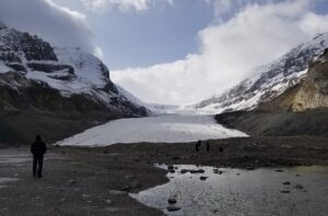 Athabasca Glacier base photo
