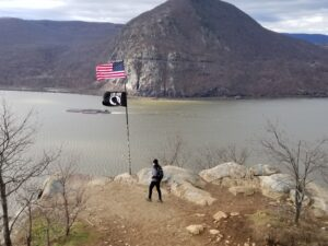 breakneck ridge first flagpole