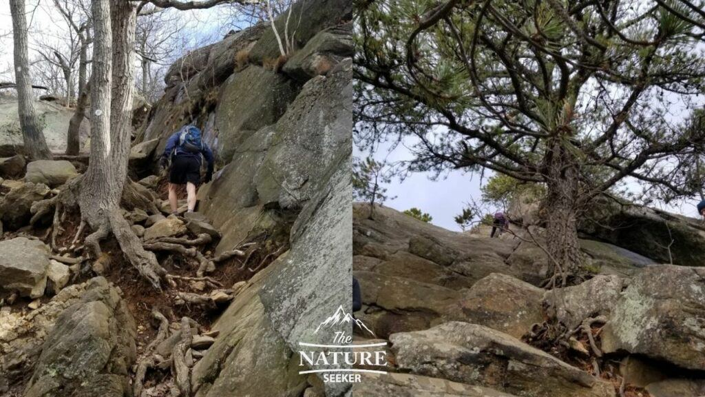 difficult parts of the breakneck ridge hike
