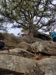 final climb up breakneck ridge