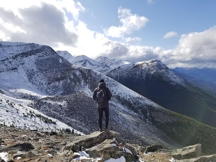 jasper skytram top of mountain