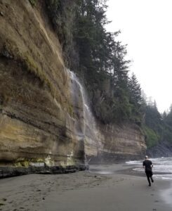mystic beach at vancouver island