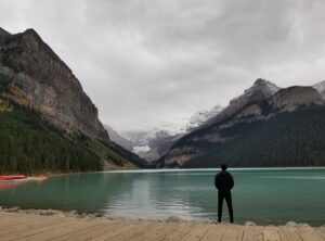 photo of lake louise western canada road trip