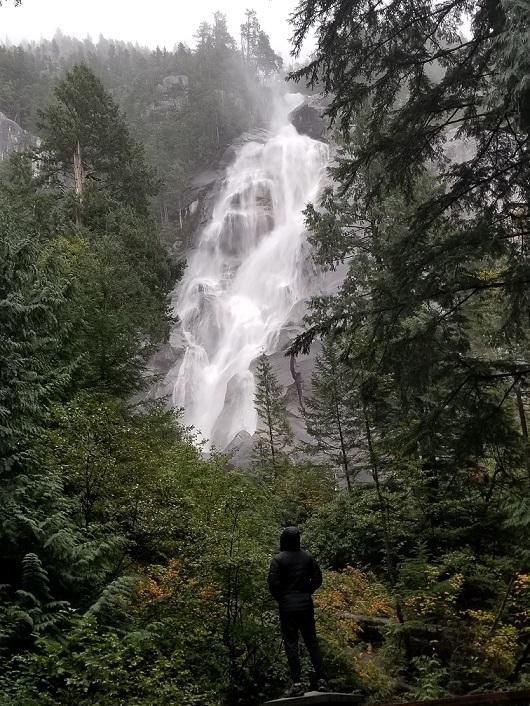 shannon falls near whistler photo