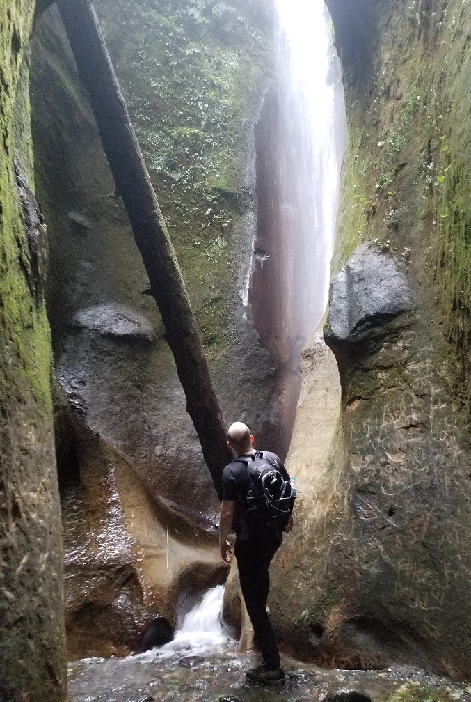 sombrio hidden waterfall vancouver island