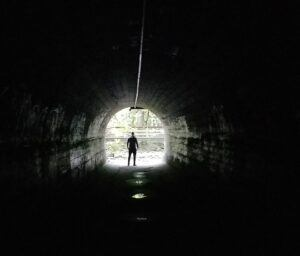 tunnel at gold stream park