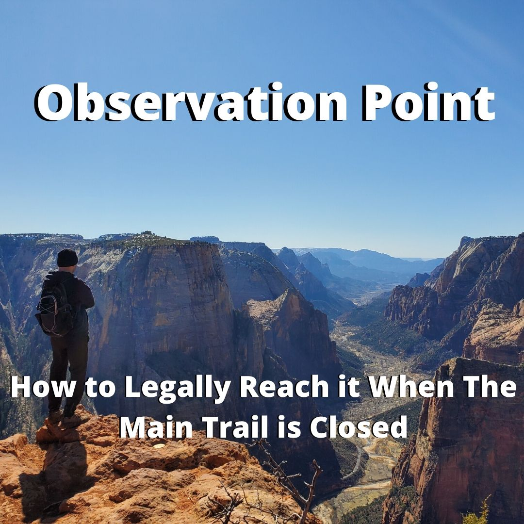 How to Legally Hike to Observation Point When It's Closed