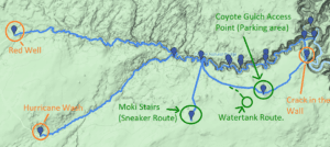 coyote gulch day hike options