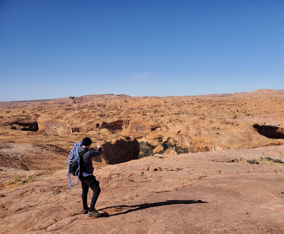 coyote gulch hike from access point