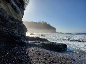 sombrio beach rock hike