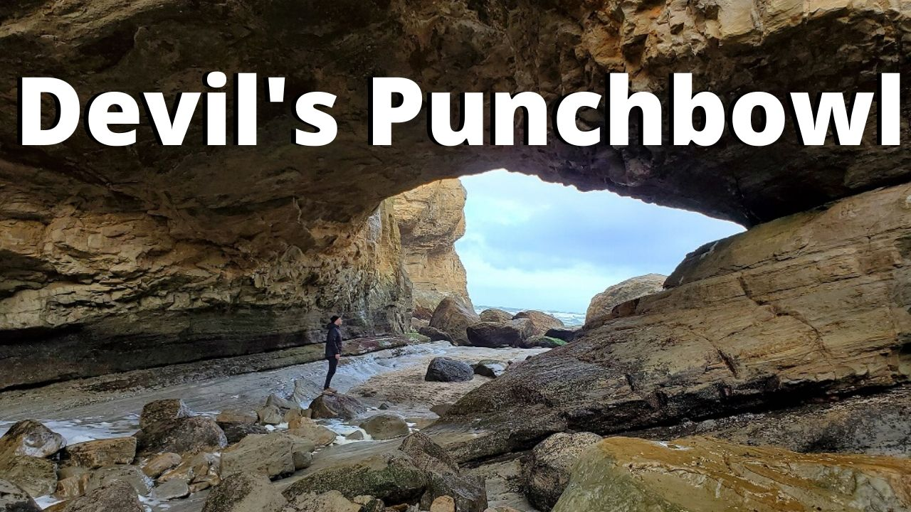 how to hike down into devil's punchbowl