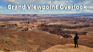 grand viewpoint overlook canyonlands national park