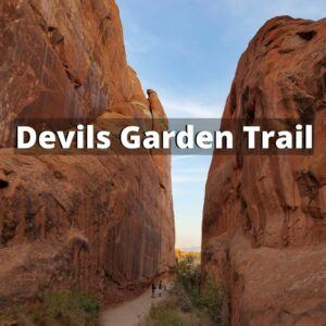 devils garden arches national park